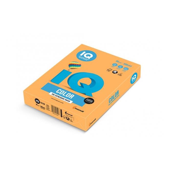 91a6f3662d Farebný papier IQ color neónovo oranžový NEOOR